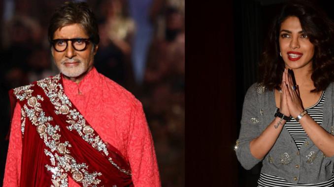 Amitabh Bachchan, Priyanka Chopra