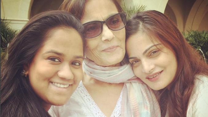 Arpita Khan Sharma, Salma Khan, Alvira Khan. Image Courtesy: Instagram