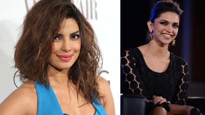 Priyanka Chopra and Deepika PadukonePriyanka Chopra and Deepika Padukone