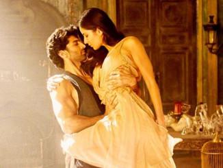 Aditya Roy Kapur and Katrina Kaif in Fitoor