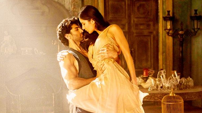 Aditya Roy Kapur and Katrina Kaif in Fitoor