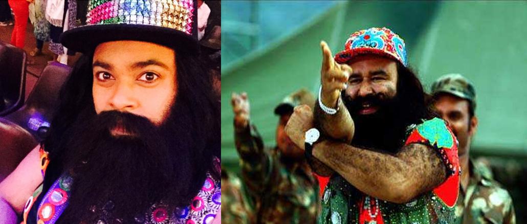 Image Courtesy: Kiku Sharda's Twitter account, (Right) Gurmeet Ram