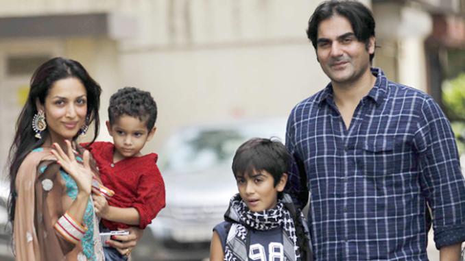 File photo of Malaika Arora Khan, Arbaaz Khan with kids