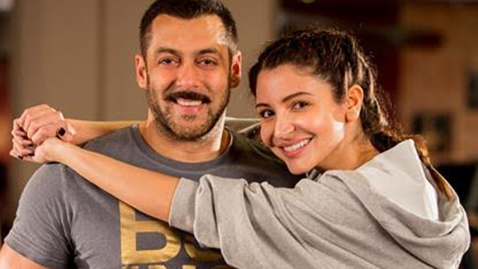 Salman Khan, Anushka Sharma in Sultan