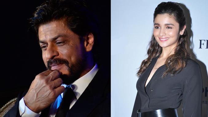 Shah Rukh Khan and Alia Bhatt