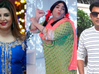Farah Khan, Kiku Sharda and Kapil Sharma