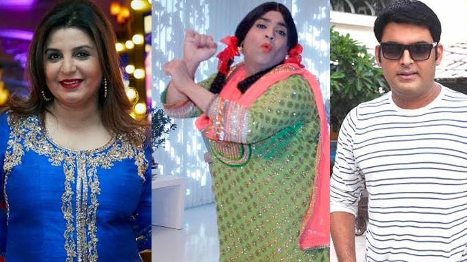 Farah Khan, Kiku Sharda and Kapil Sharma