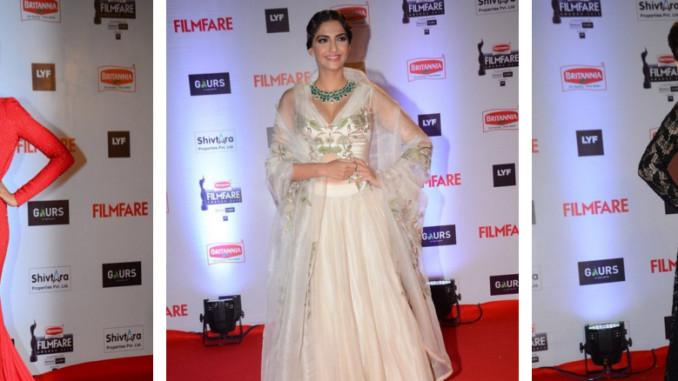 Deepika Padukone, Sonam Kapoor, Sunny Leone