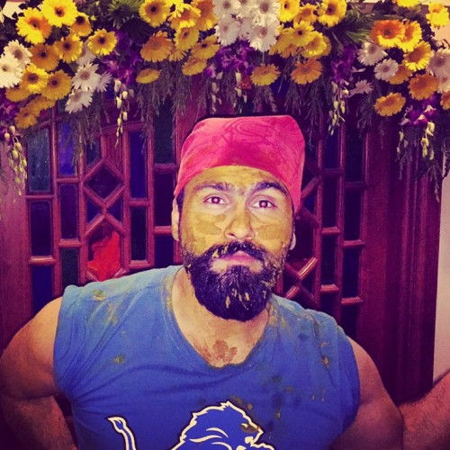 Aarya Babbar during his Haldi ceremony