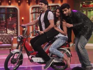 Kapil Sharma, Deepika Padukone and Arjun Kapoor on CNWK