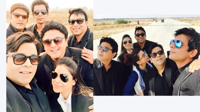 The team Kapil. Image Courtesy: Twitter