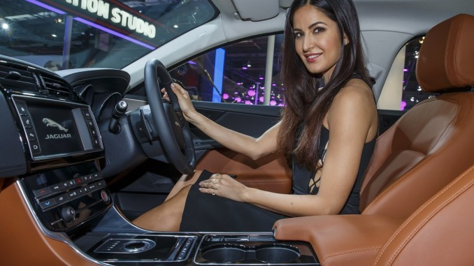 Katrina Kaif in the All New Jaguar XE