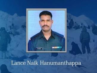 Lance Naik Hanamanthappa. Image Courtesy: Facebook