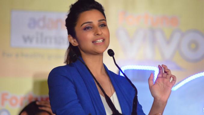Parineeti Chopra at a recent event