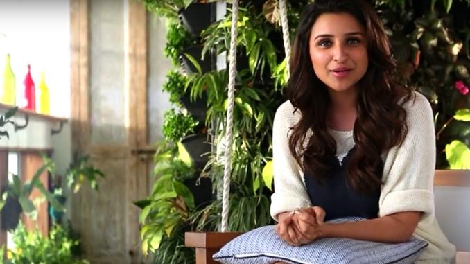 Parineeti Chopra announcing Meri Pyaari Bindu