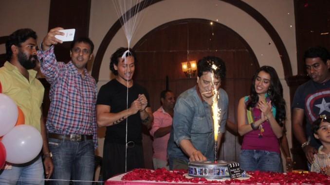 Sajid Nadiadwala celebrates his birthday on the sets of Baaghi