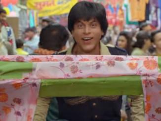 Shah Rukh Khan in Jabra Fan song