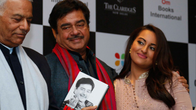 Sonakshi Sinha, Shatrughan Sinha at the launch
