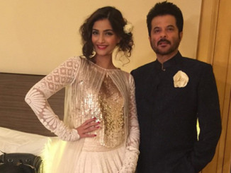 Sonam Kapoor and Anil Kapoor. Image Courtesy: Instagram