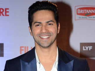 Varun Dhawan is all smiles