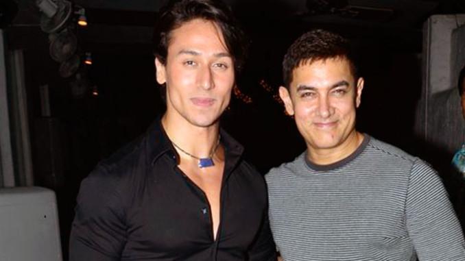 Tiger Shroff, Aamir Khan