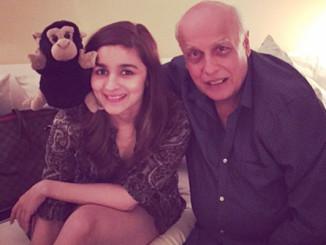 Alia Bhatt, Mahesh Bhatt. Image Courtesy: Instagram