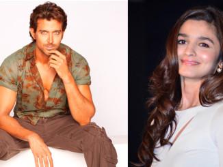 Hrithik Roshan and Alia Bhatt