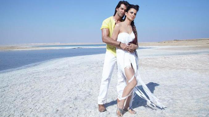 Hrithik Roshan and Kangana Ranaut in Krrish 3