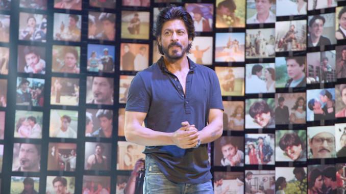 Shah Rukh Khan at Fan trailer launch