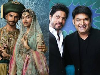 Bajirao Mastani, Shah Rukh Khan with Kapil Sharma