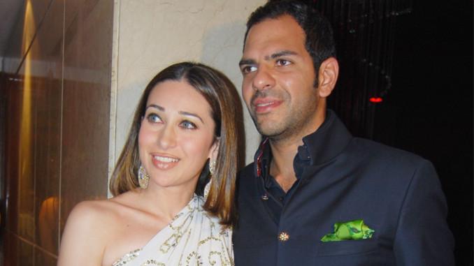Karisma Kapoor, Sunjay Kapur in happier times