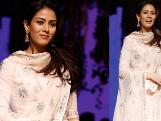 Mira Rajput walks the ramp at Lakme Fashion Week 2016