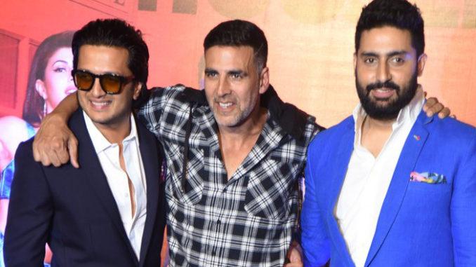 Riteish Deshmukh, Akshay Kumar and Abhishek Bachchan