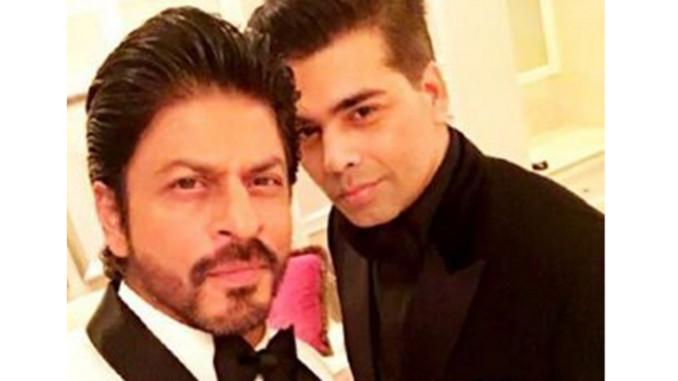 Shah Rukh Khan, Karan Johar. Image Courtesy: Instagram