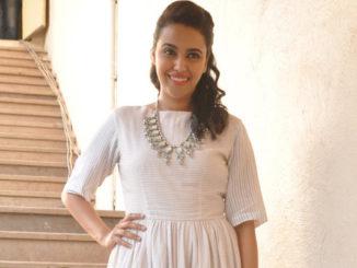 Swara Bhaskar promoting Nil Battey Sannata