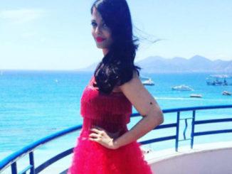 Aishwarya Rai Bachchan at Cannes. Image Courtesy: Twitter