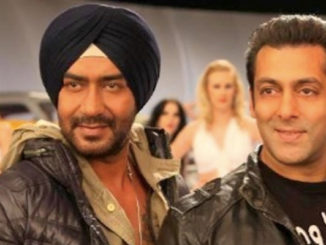 Ajay Devgn, Salman Khan in Son of Sardaar