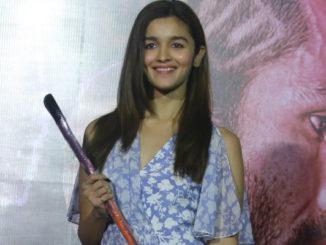 Alia Bhatt at the launch of Ikk Kudi
