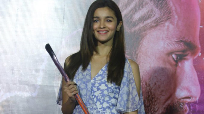 Alia Bhatt at the launch of Ikk Kudi