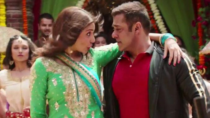Anushka Sharma, Salman Khan in Sultan