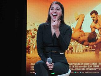 Anushka Sharma at Sultan trailer launch