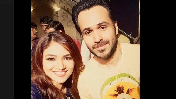 Emraan Hashmi on the sets of Bahu Humari Rajni_kant