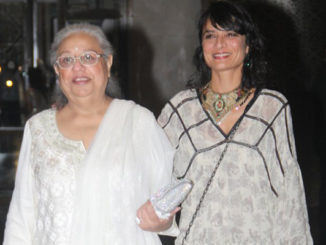 Honey Irani, Adhuna Bhabani at Preity Zinta's reception
