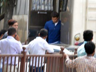 Hrithik Roshan shooting for Kaabil in Mumbai