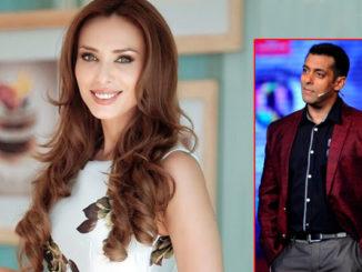 Iulia Vantur and Salman Khan