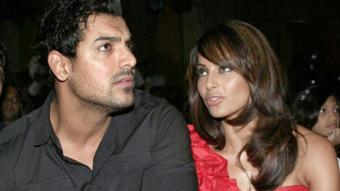John Abraham, Bipasha Basu at an event
