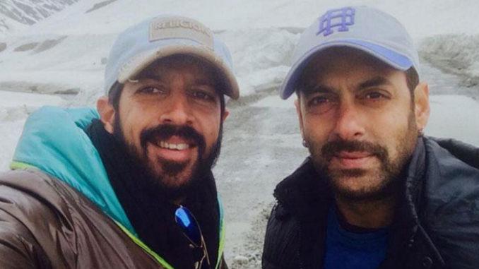 Kabir Khan, Salman Khan. Image Courtesy: Twitter