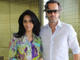 Mallika Sherawat with Cyrille Auxenfans