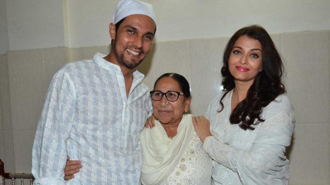 Randeep Hooda, Dalbir Kaur, Aishwarya Rai Bachchan