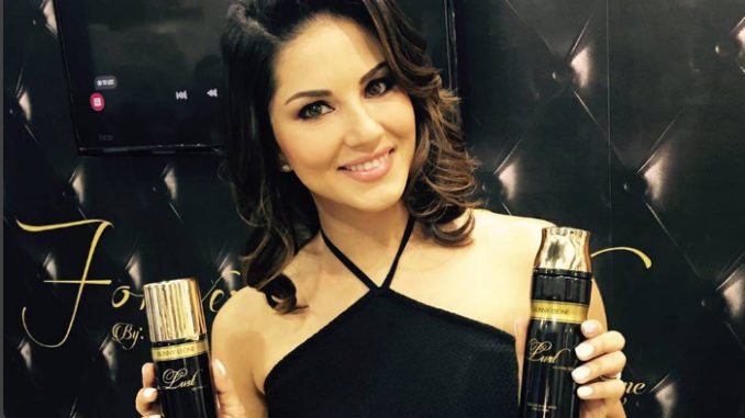 Sunny Leone launches her perfume range in Dubai